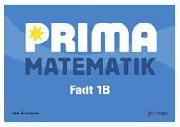 Prima Matematik 1B Facit 5-pack