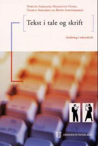 Tekst i tale og skrift