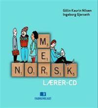 Mer norsk; lærer CD-er