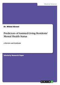 Predictors of Assisted-Living Residents' Mental Health Status