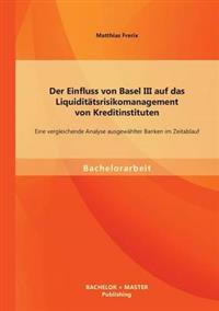 Der Einfluss Von Basel III Auf Das Liquiditatsrisikomanagement Von Kreditinstituten