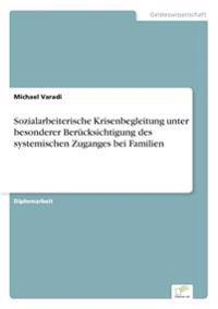 Sozialarbeiterische Krisenbegleitung Unter Besonderer Berucksichtigung Des Systemischen Zuganges Bei Familien