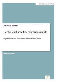Der Foucaultsche Uberwachungsbegriff
