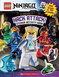 Hack Attack!: Sticker Activity Book (Lego Ninjago)