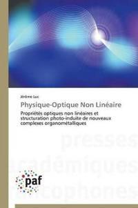 Physique-Optique Non Lin�aire