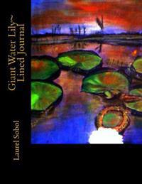 Giant Water Lily Lined Journal