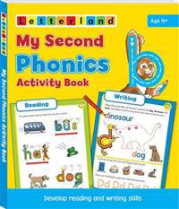 My second phonics activity book - develop reading and writing skills