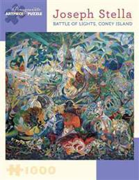 Joseph Stella Battle of Lights Coney Island 1000-Piece Jigsaw Puzzle  Aa808
