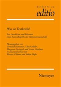Was Ist Textkritik?