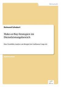 Make-Or-Buy-Strategien Im Dienstleistungsbereich