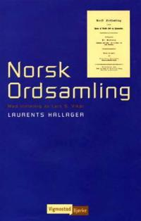 Norsk ordsamling - Laurents Hallager pdf epub