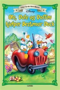Ole, Dole og Doffen hjelper bestemor Duck