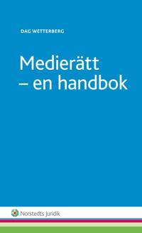 Medierätt : en handbok
