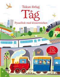 Tåg : pysselbok med klistermärken