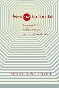 Press ''one'' for English