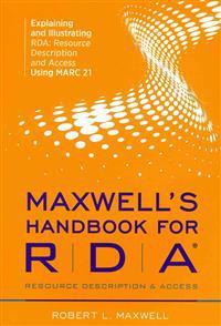 Maxwell's Handbook for Resource Description & Access