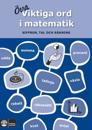 Viktiga ord i matematik : siffor, tal och räkning