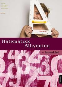 Matematikk påbygging; forenklet