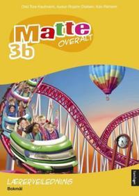 Matte overalt 3b; lærerveiledning - Odd Tore Kaufmann, Audun Rojahn Olafsen, Kari Rikheim | Inprintwriters.org