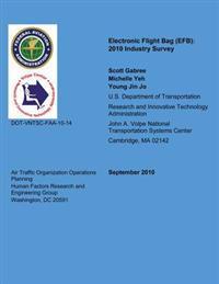 Electronic Flight Bag: 2010 Industry Survey