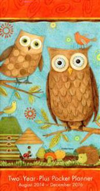 Cal 2015-Owls by Debbie Mumm