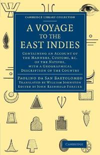 A Voyage to the East Indies