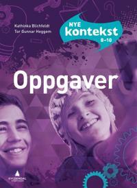 Nye Kontekst 8-10; oppgaver - Kathinka Blichfeldt, Tor Gunnar Heggem | Inprintwriters.org