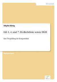 IAS 1, 4. Und 7. Eg-Richtlinie Sowie Hgb