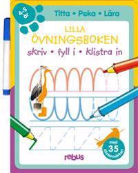 Lilla övningsboken med stickers 4 - 5 år