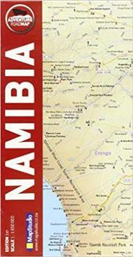 Namibia Kirjat Kartta Viikattu 9781770265417 Adlibris