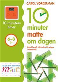 10 minuter matte om dagen 6-8 år
