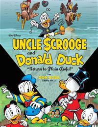 """Walt Disney Uncle Scrooge and Donald Duck: """"Return to Plain Awful"""" the Don Rosa Library Vol. 2"""