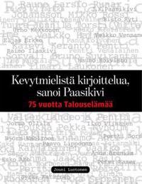 Kevytmielistä kirjoittelua, sanoi Paasikivi