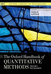 The Oxford Handbook of Quantitative Methods