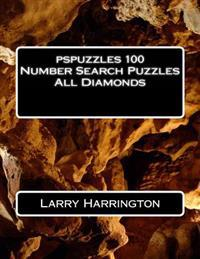 Pspuzzles 100 Number Search Puzzles All Diamonds
