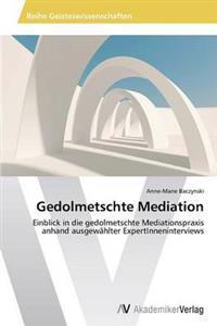 Gedolmetschte Mediation