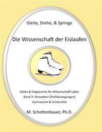 Gleite, Drehe, & Springe: Die Wissenschaft Der Eislaufen: Band 3: Daten & Diagramme Fur Wissenschaft Labor: Pirouetten (Drehbewegungen)