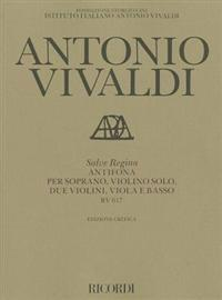 Salve Regina: Antifona Per Soprano, Violino Solo, Due Violini, Viola E Basso