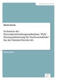 """Evaluation Der Personalentwicklungsmanahme """"Pqn - Praxisqualifizierung Fur Nachwuchskrafte"""" Bei Der Daimlerchrysler AG"""