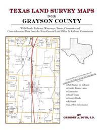Texas Land Survey Maps for Grayson County