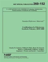 Certification of a Polystyrene Synthetic Polymer, Srm 2888