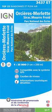 Orcieres-Merlette / Sirac / Mourre Froid/PNR des Ecrins