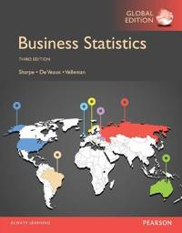 Business Statistics, Global Edition