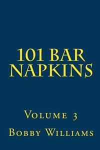 101 Bar Napkins: Volume 3