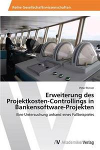 Erweiterung Des Projektkosten-Controllings in Bankensoftware-Projekten