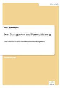 Lean Management Und Personalfuhrung