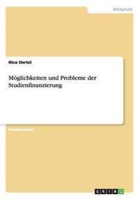 Moglichkeiten Und Probleme Der Studienfinanzierung