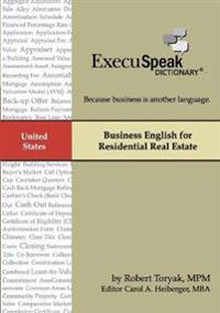 Business English for Residential Real Estate
