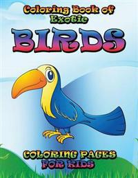 Coloring Book of Exotic Birds Subtitle