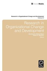 Research in Organizational Change and Development